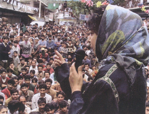 Election Rally in Kashmir October 2002